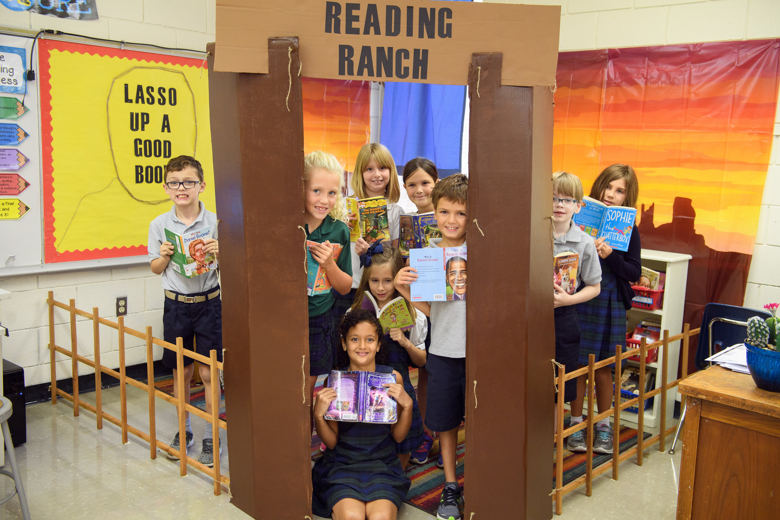 Trinity Episcopal Day School Third Grade