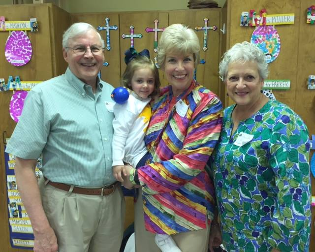 Trinity Day School Grandparents Day