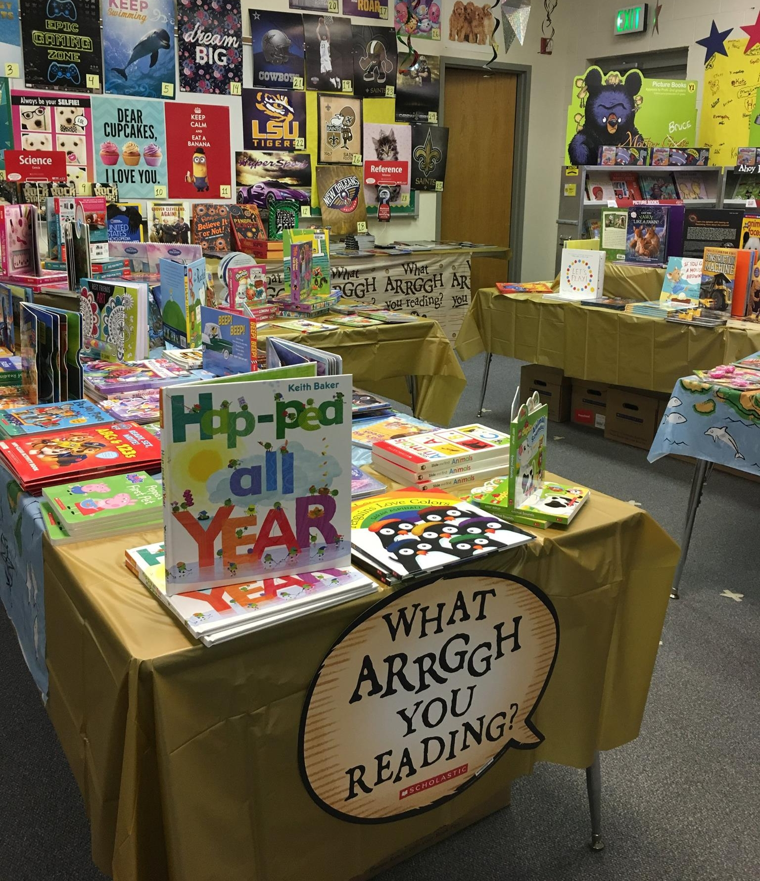 Trinity Day School Book Fair