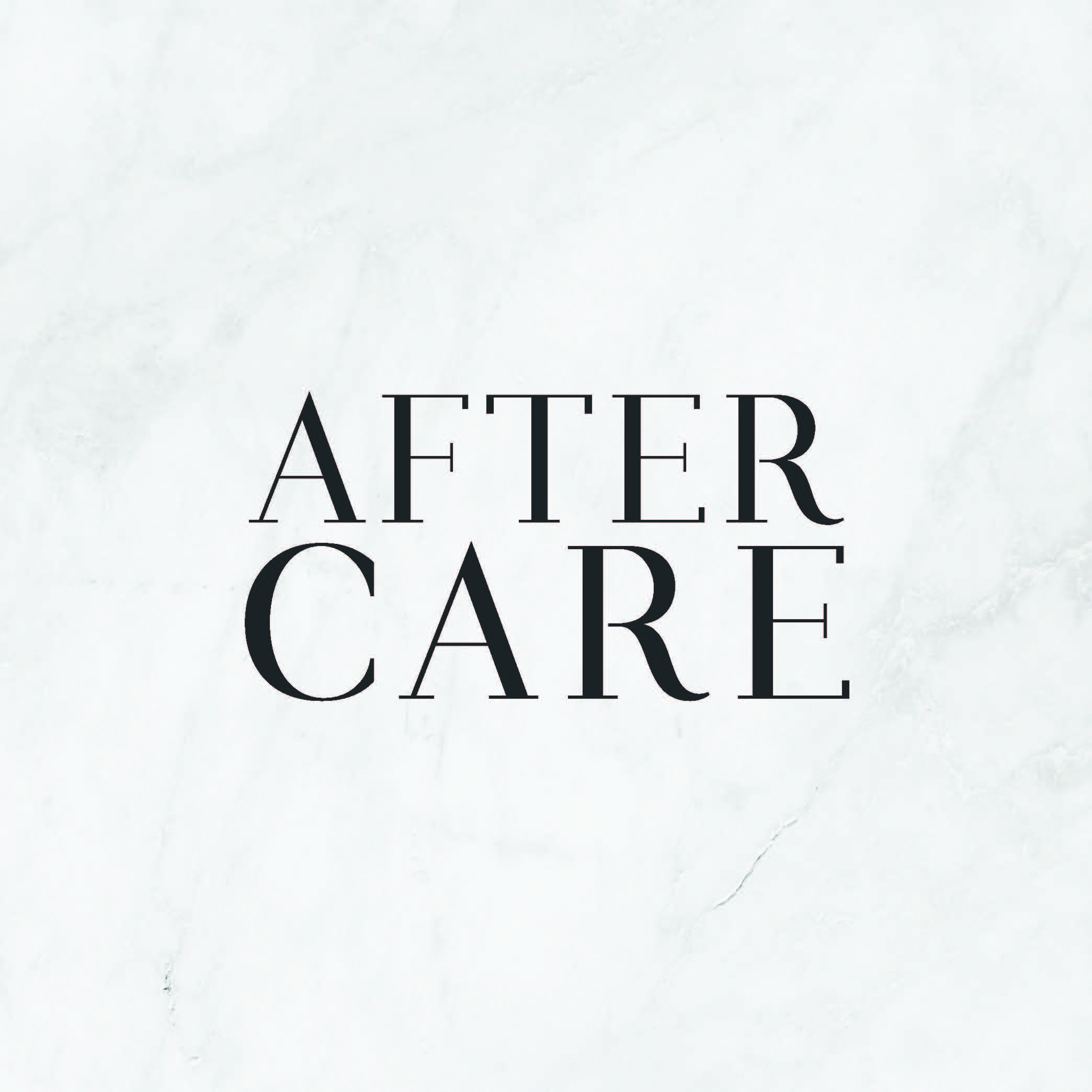 After-Care Microblading Postcard