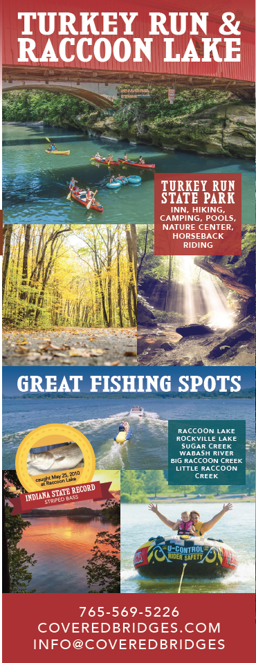 Parke County Map Brochure