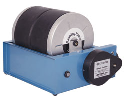 LORTONE Model QT-66   Two 6 lb. barrels on the QT66 base add versatility to your tumbling. You can use either one or two barrels at any time.   Price:   $380.00