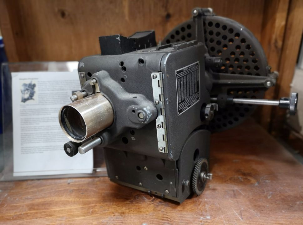 Simplex Projector - Perfect for display or film, needs a couple parts but in good condition.asking $450We inspect and test all equipment that comes into the store. No refunds or exchanges on used equipment. Call us or come by the store for more information.