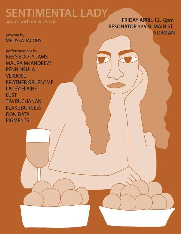 Art Walk Poster. -