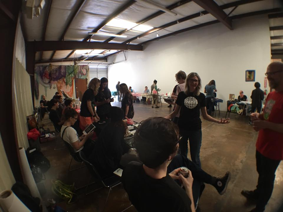 Resonator's 2017 Zine Fest. Photo credit: Julius