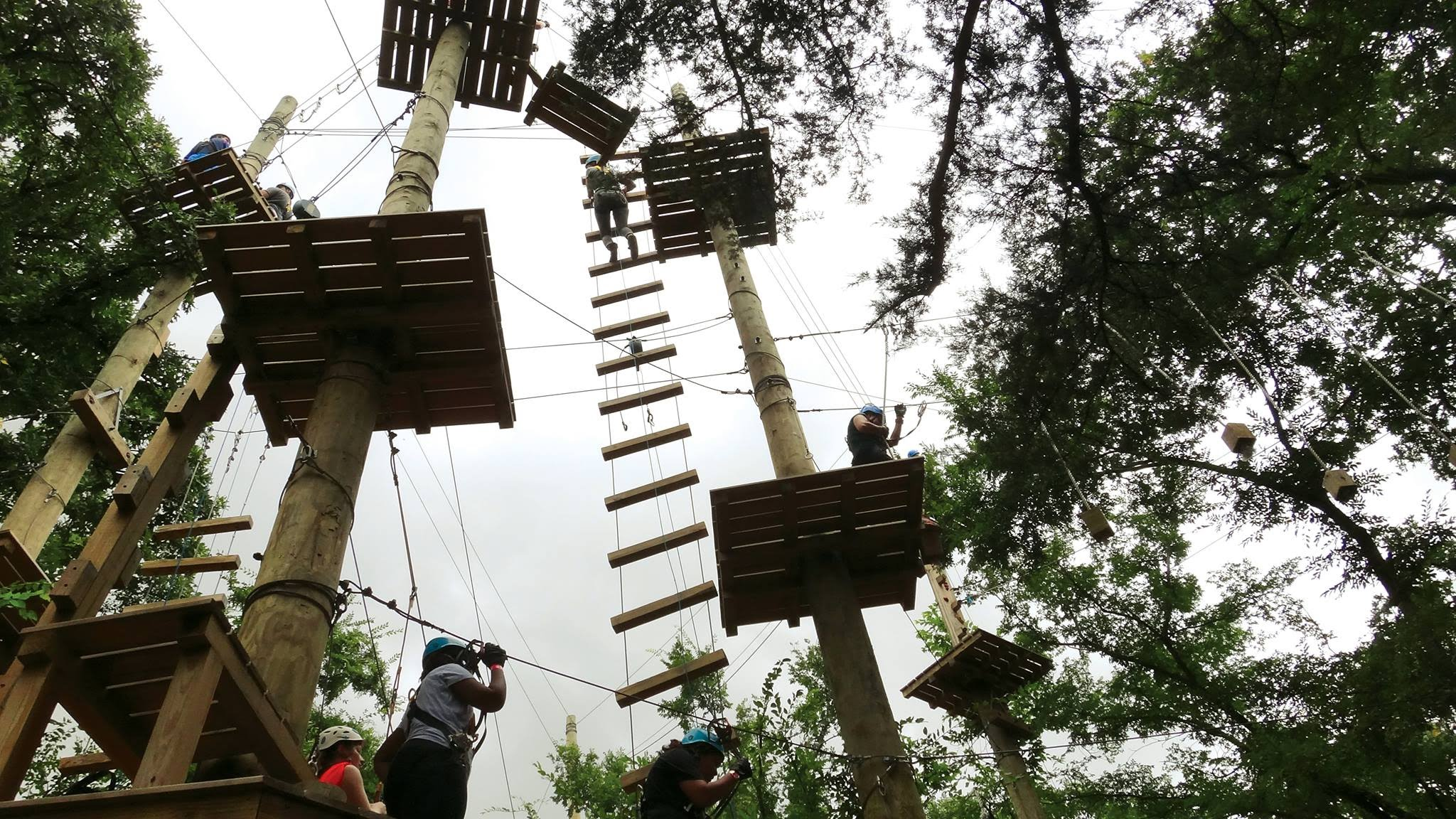 Trinity River Zip Line and Forest Adventures -