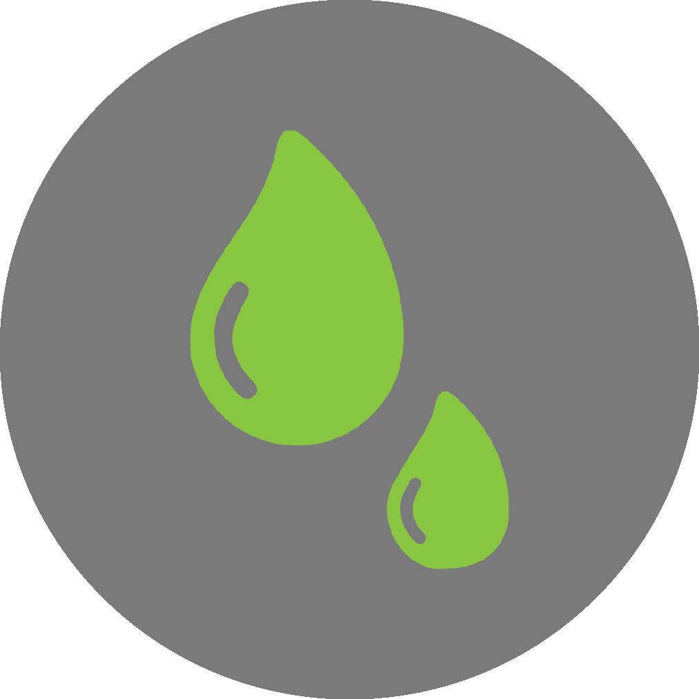 recolección de aall - Impiden el paso de agentes contaminantes y toxinas hacia las corrientes y canales. Reduce la carga de los sistemas de alcantarillado entre un 70 - 90%.