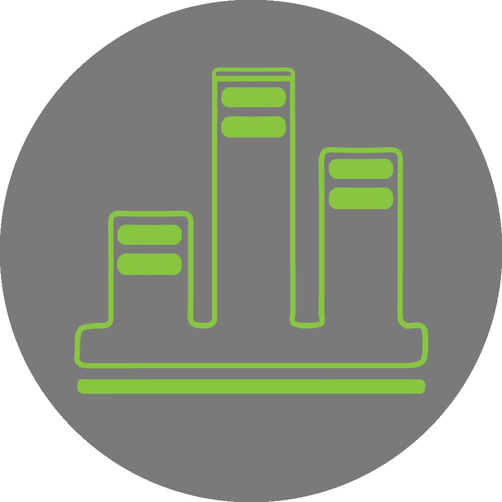 diferenciación - Las áreas verdes en altura son excelentes amenidades para proyectos, se convierten en puntos de referencia y otorgan valor al usuario.