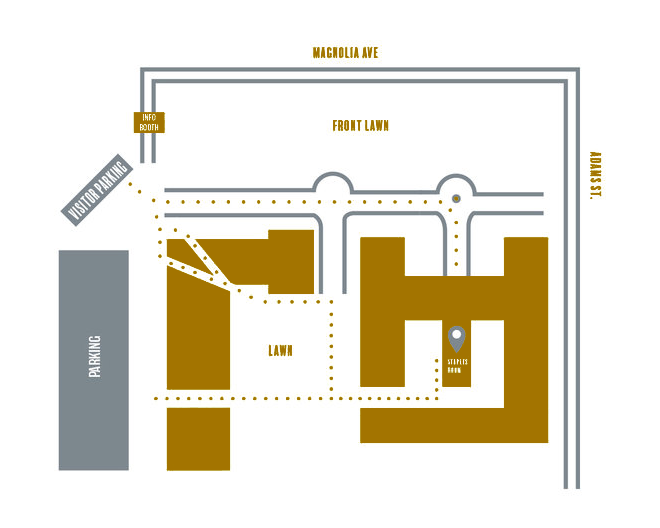 8432 Magnolia Ave., Riverside, CA 92504  James Building - Staples Room