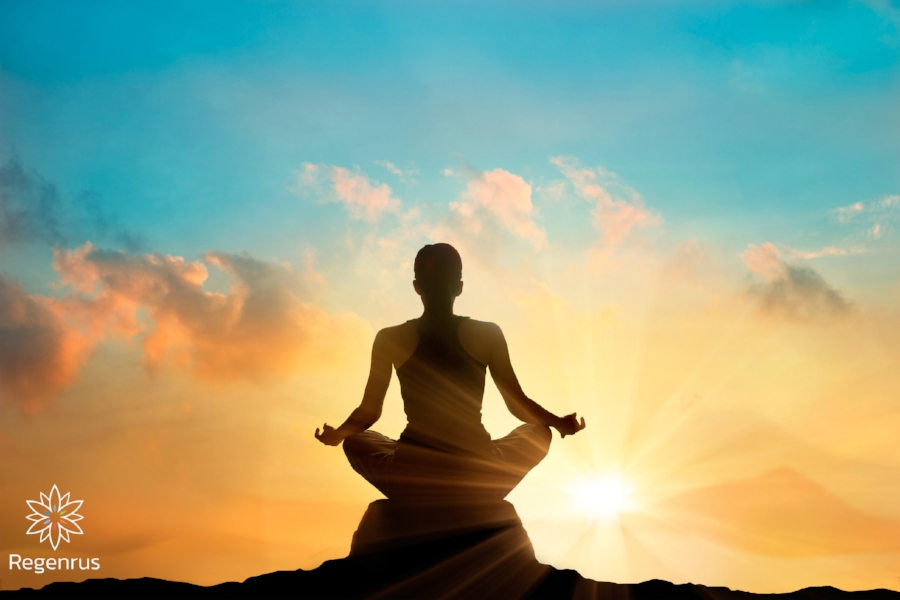 Meditation can bring about an experience -- a rebirth -- that can allow for a deeper sense of purpose and understanding of self in relation to the world around us.