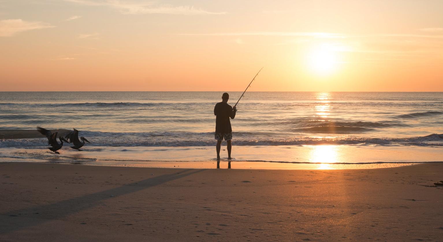 fishing captiva sunset
