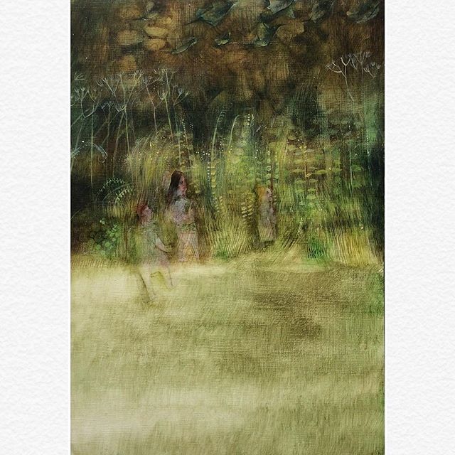 .......................................🌾Adventurers 🌾full picture . 🌾what's beyond . . 🌾this is available in Churchgate gallery Porlock. . 🌾link in bio . . .  #Art #illustration #instaart #buyart #t #artist #painting #butterflies #whimsical #whimsicalart #explore #pretty #green #adventure #sunlight #design #pattern #leaves #beauty #beautiful #kids #adventure #creative #memories #nature #gardens #botanical #childhoodunplugged #childhood