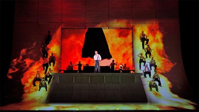 Moby Dick, Dallas Nation Opera   Set Designer: Robert Brill