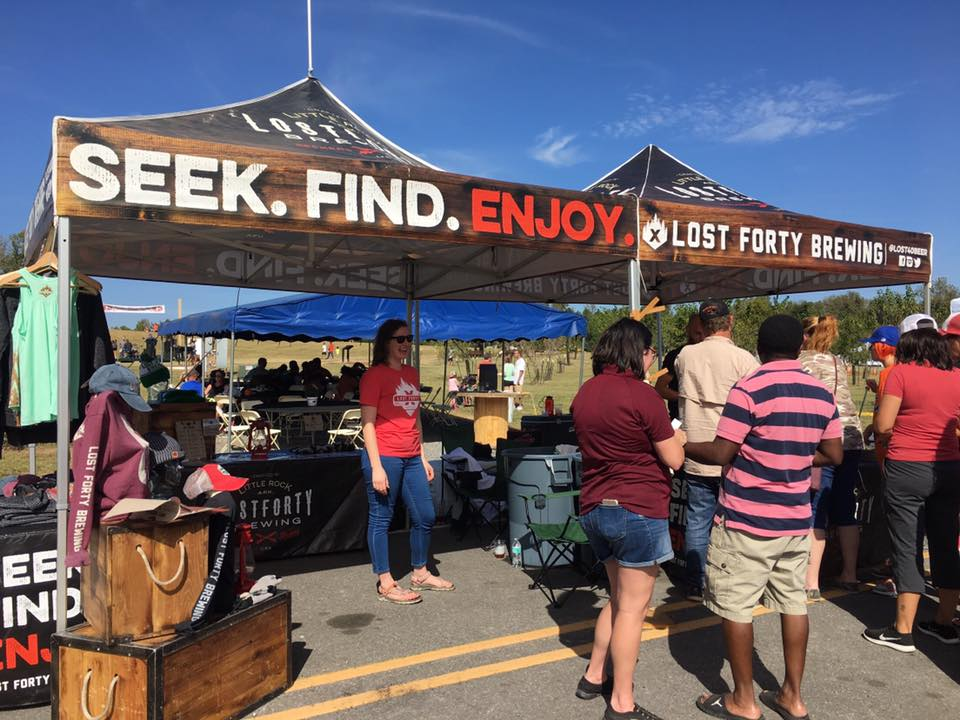 We're excited to have Lost Forty in the festival beer garden! -