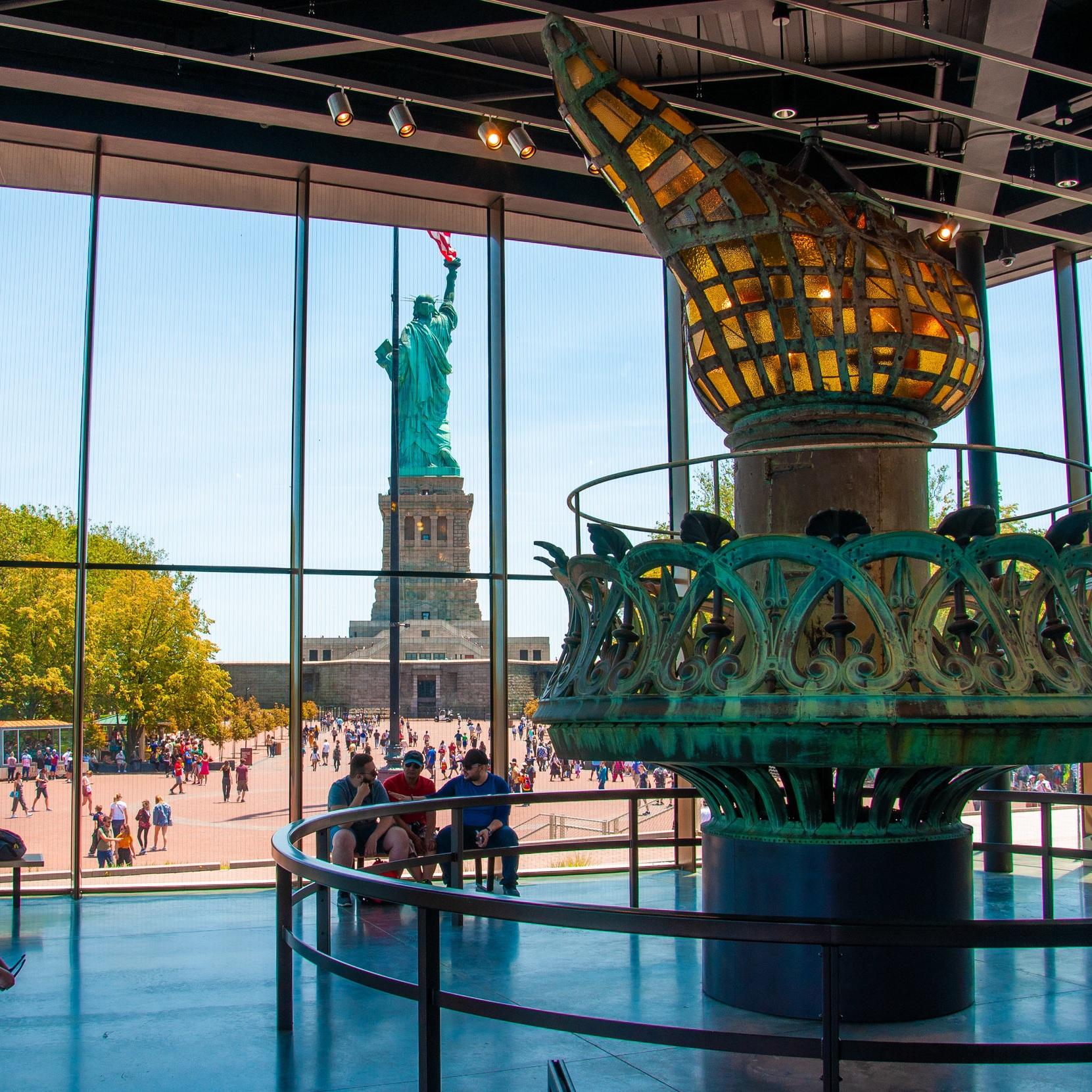 statue of liberty museum - Liberty Island, NY
