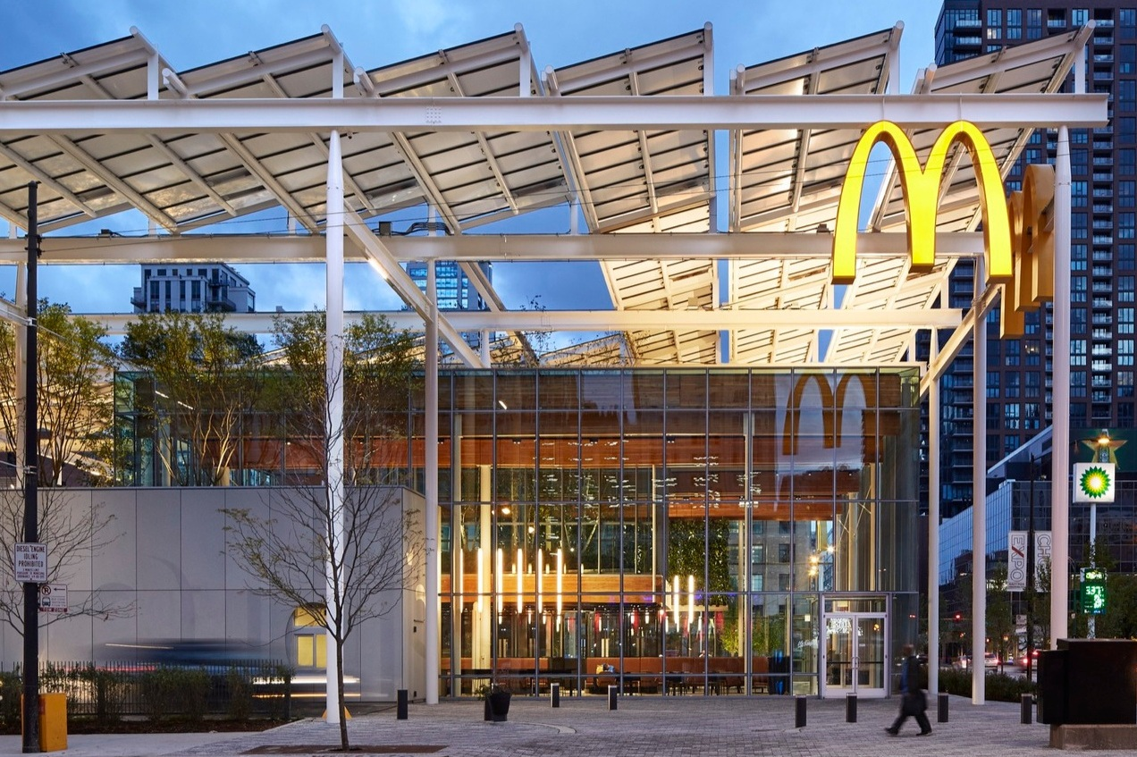 McDonalds flagship - Chicago, IL