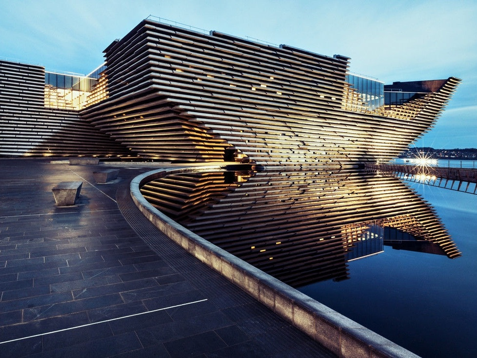V&A Dundee museum - Dundee, Scotland