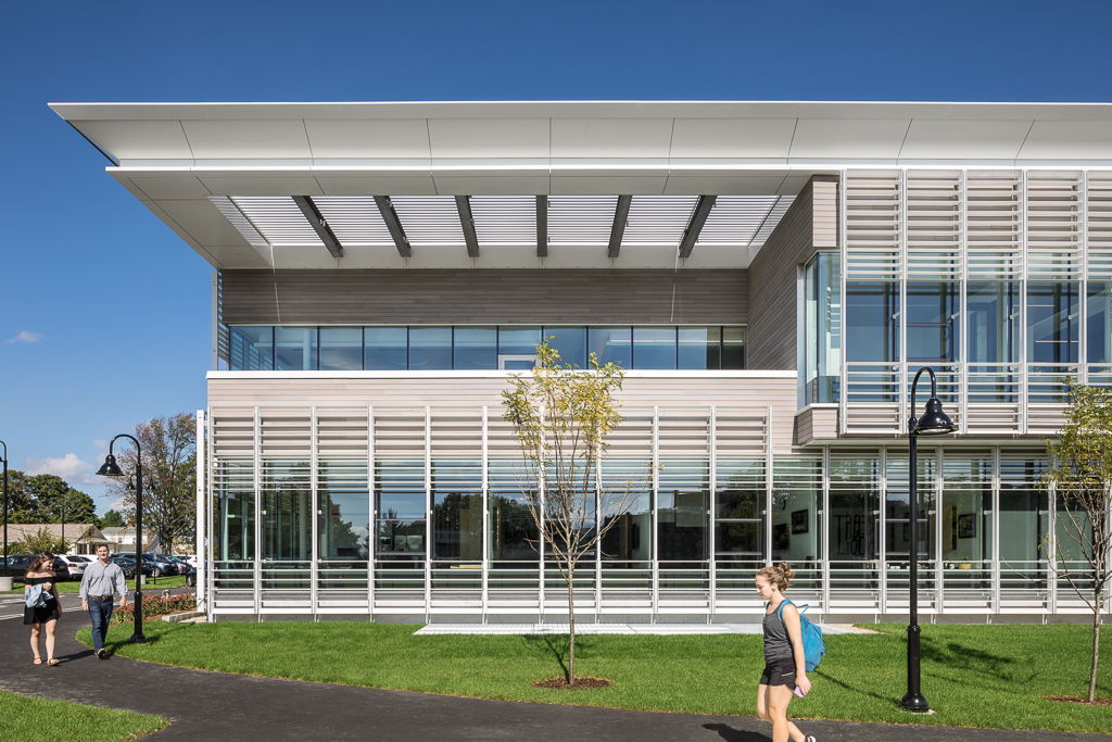 Providence College - Friar Development Center_Ext Elevation South Detail_Copyright Sarah Mechling.jpg
