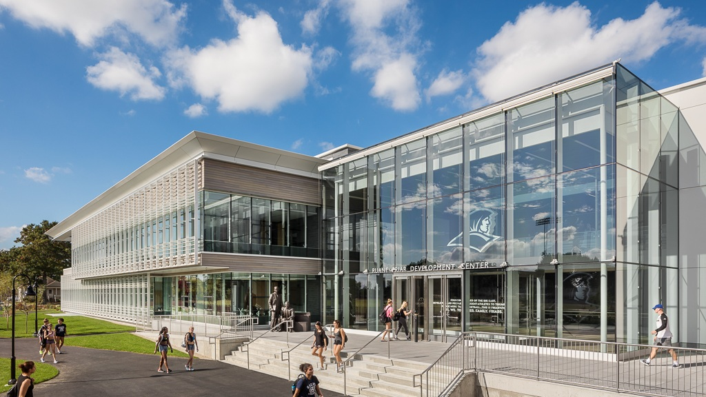 Providence College - Friar Development Center_Ext South Full_Copyright Sarah Mechling.jpg