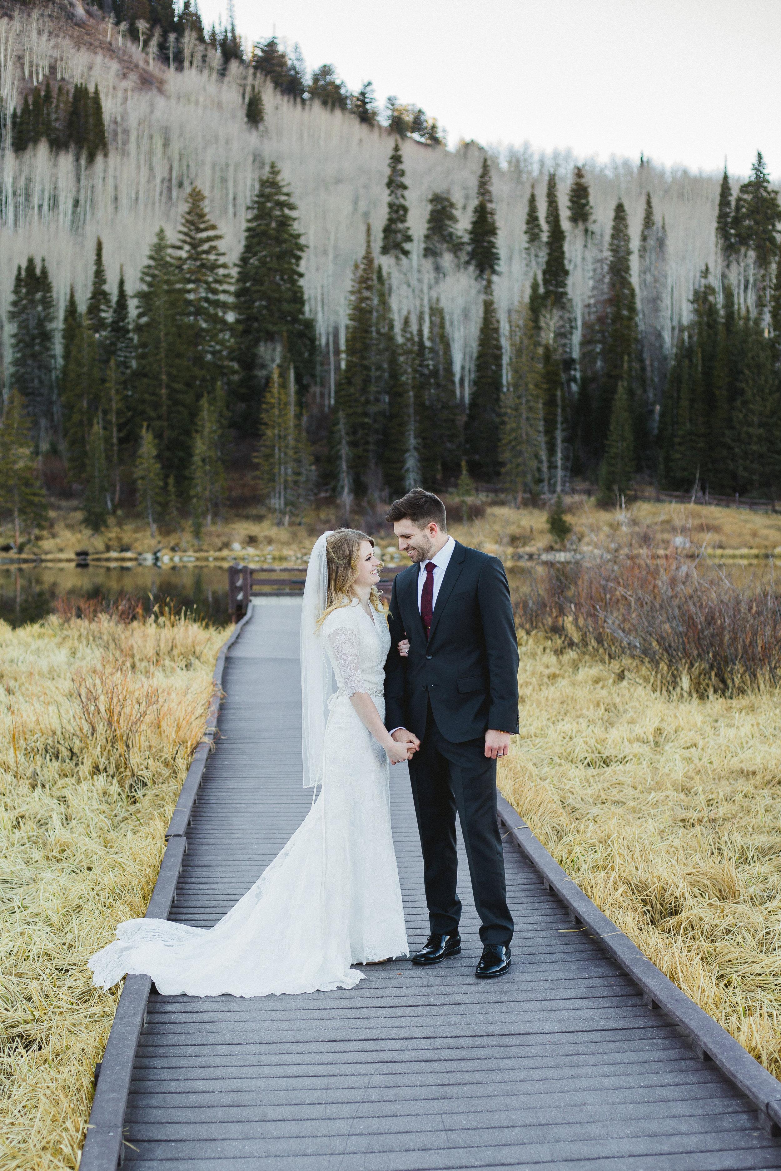 Courtney Volksen Photography   Utah Mountain Bridal Session Silver Lake