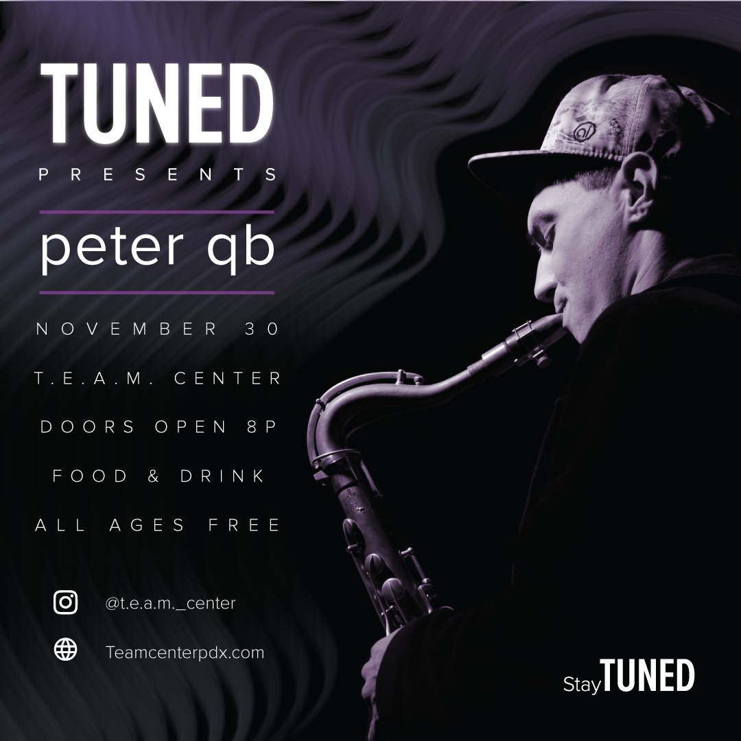 tUNED PRESENTS: PETER QB