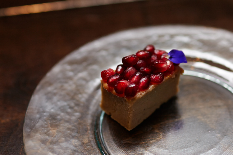 Banana Cake | Salted Caramel | Pomegranate
