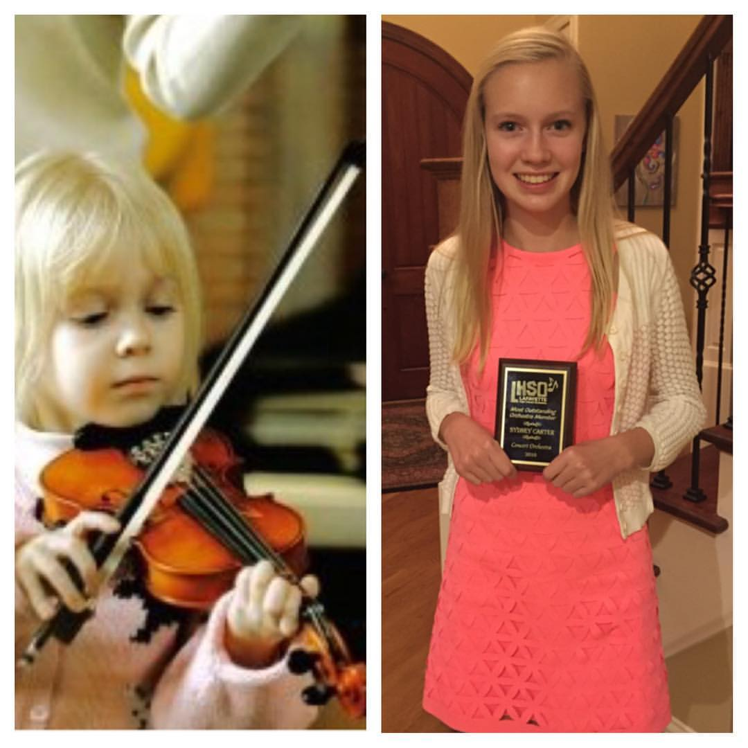 "Sydney - From a tiny violin to ""Most Outstanding Orchestra Member"""