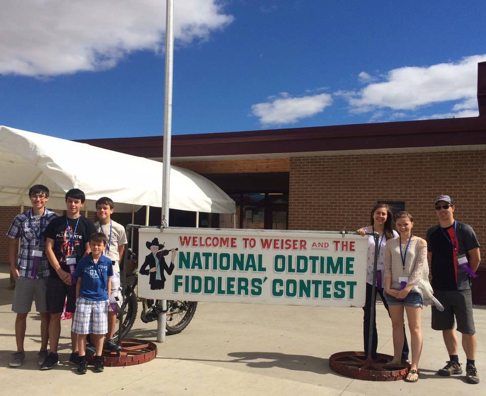 CSS students at the National Oldtime Fiddlers' Contest