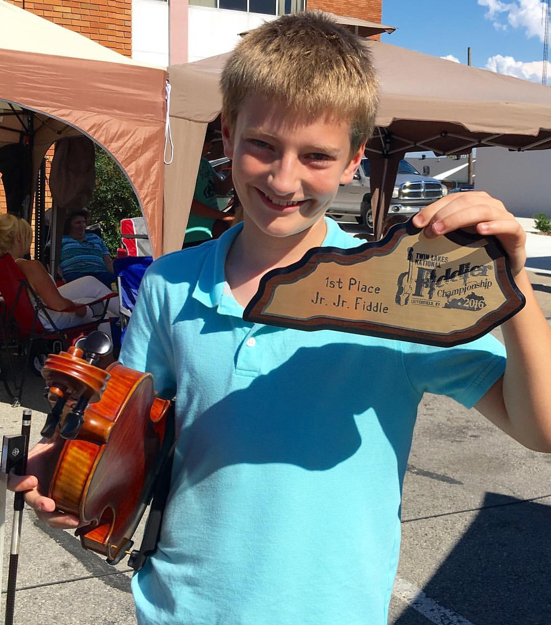 Sam - Twin Lakes National Fiddle Contest Champion