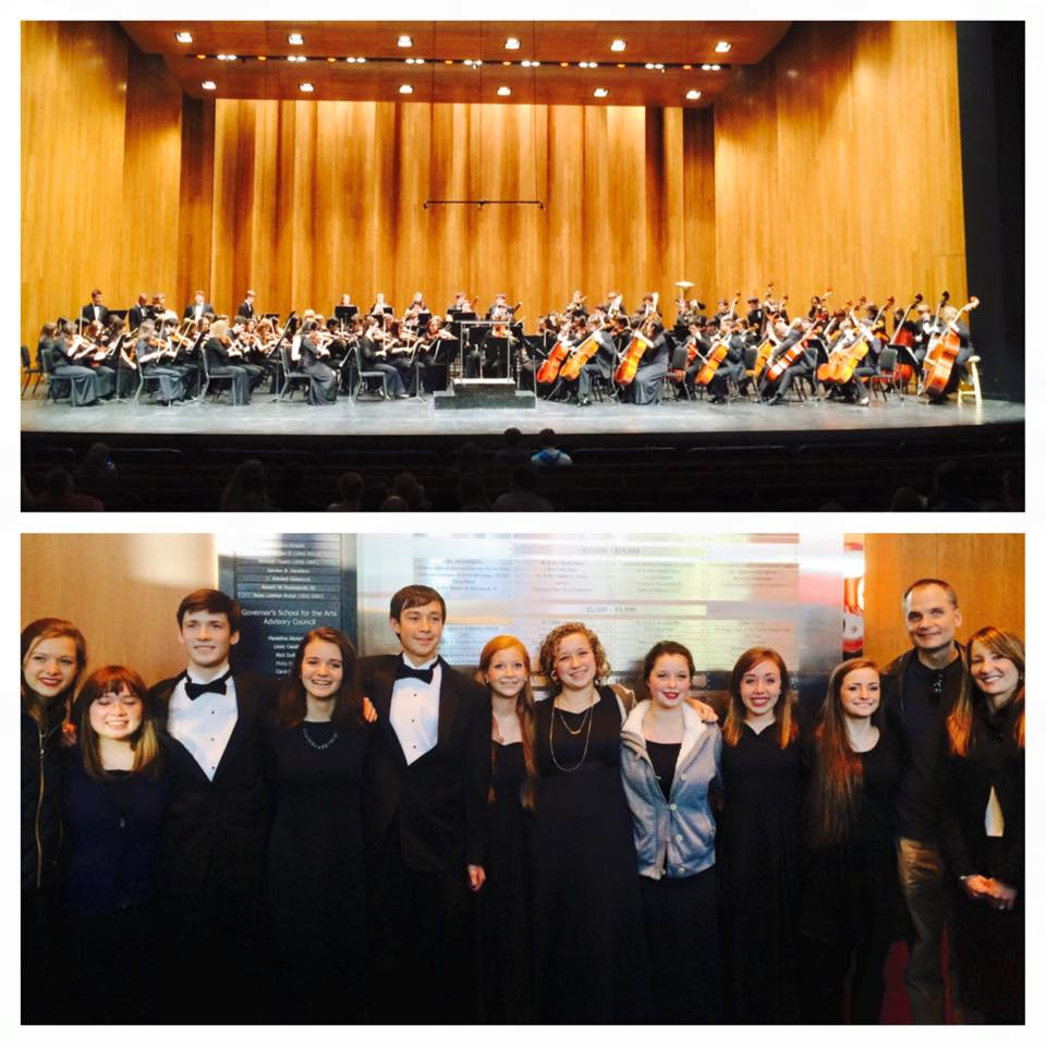 CSS Kentucky All-State Orchestra Students 2015