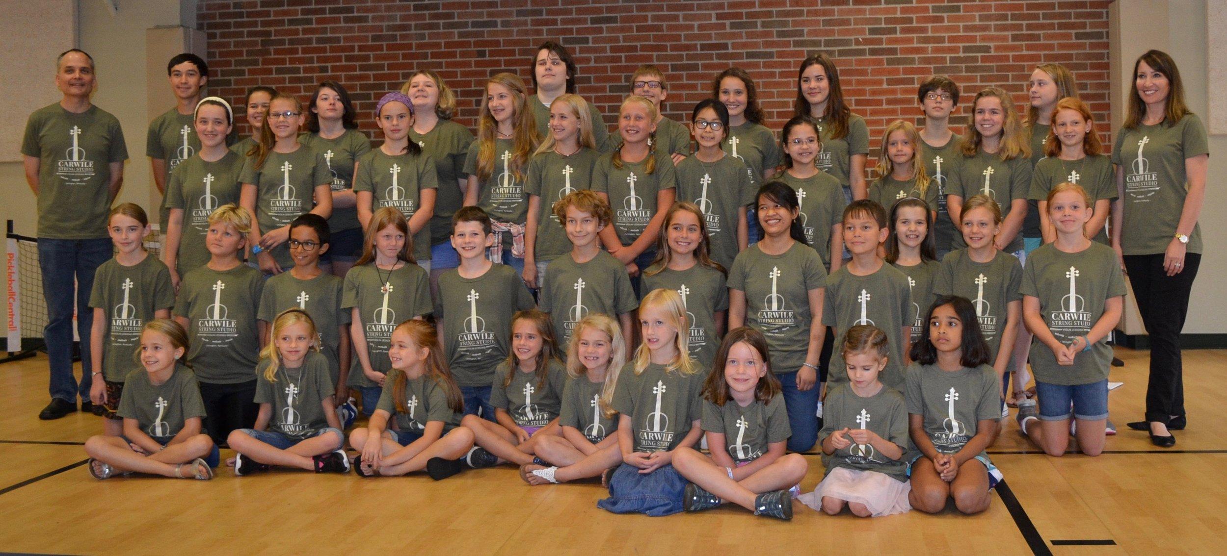 Carwile String Studio Students