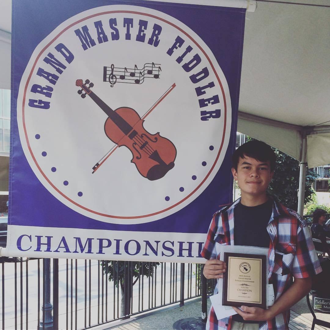 Benjamin - Grand Master Youth Champion