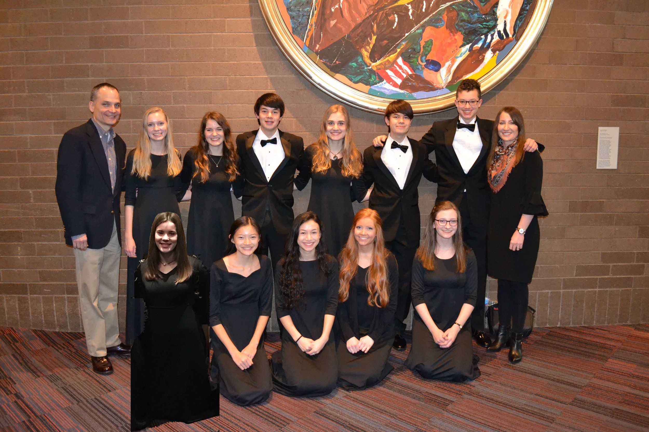 CSS Kentucky All-State Orchestra Students 2018