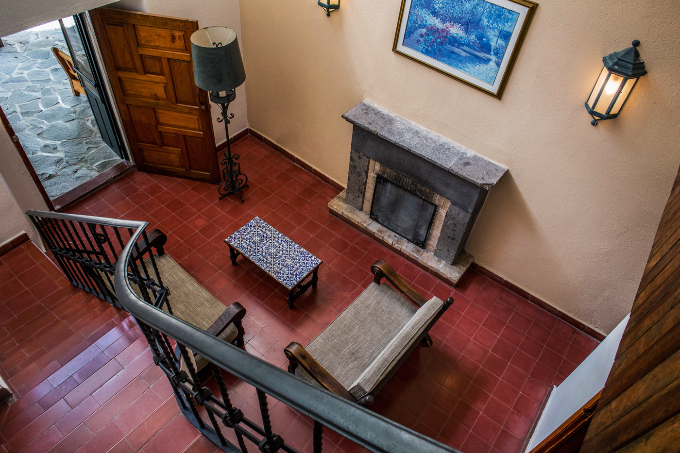 Master Suite View from Staircase