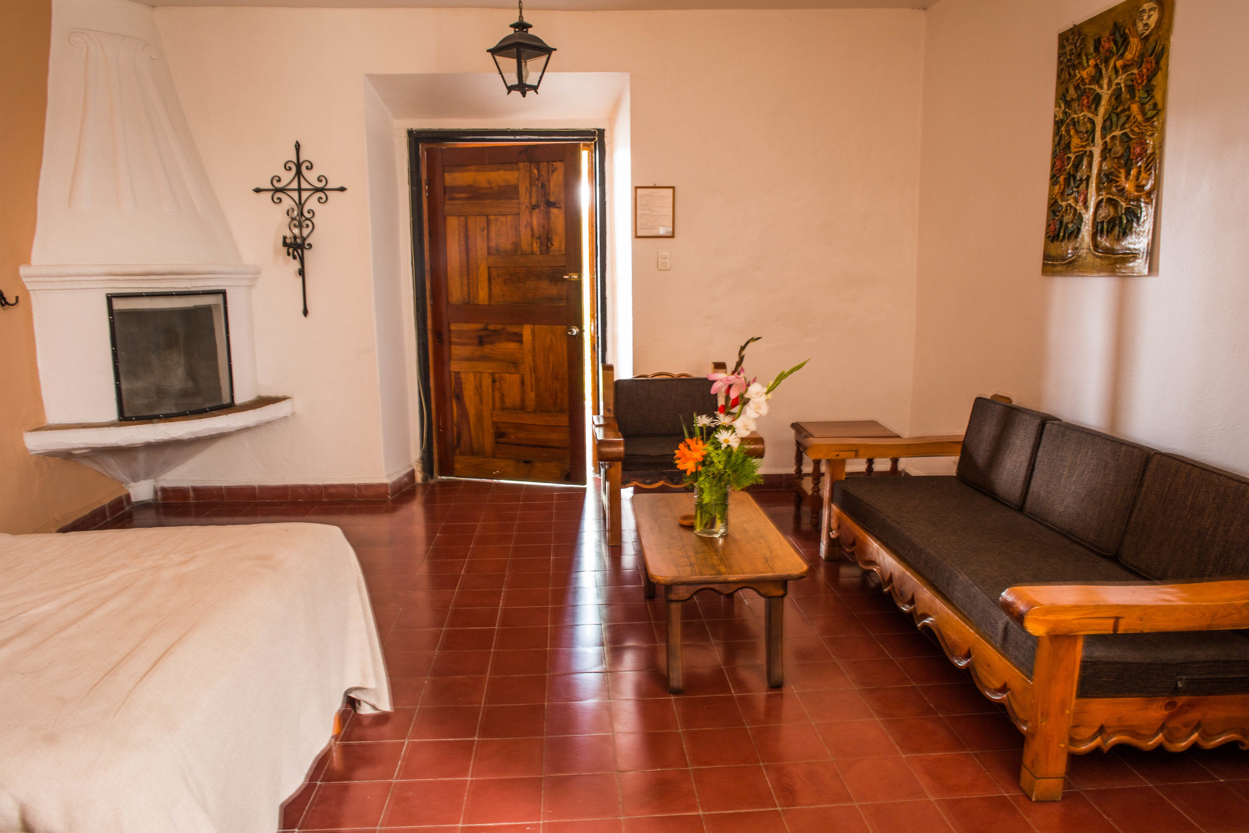 Junior Suite Bedroom and Sitting Area