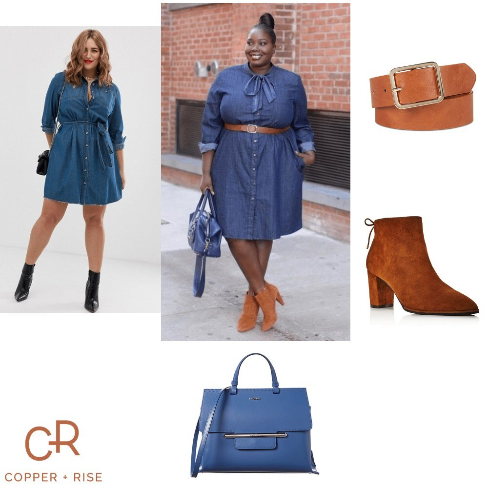 Fall Fashion - Denim Dress -