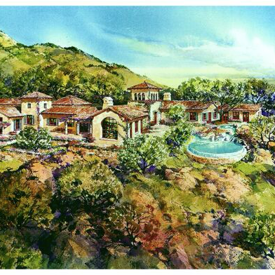 OAK CREEK, CANYON RANCH, MONTECITO