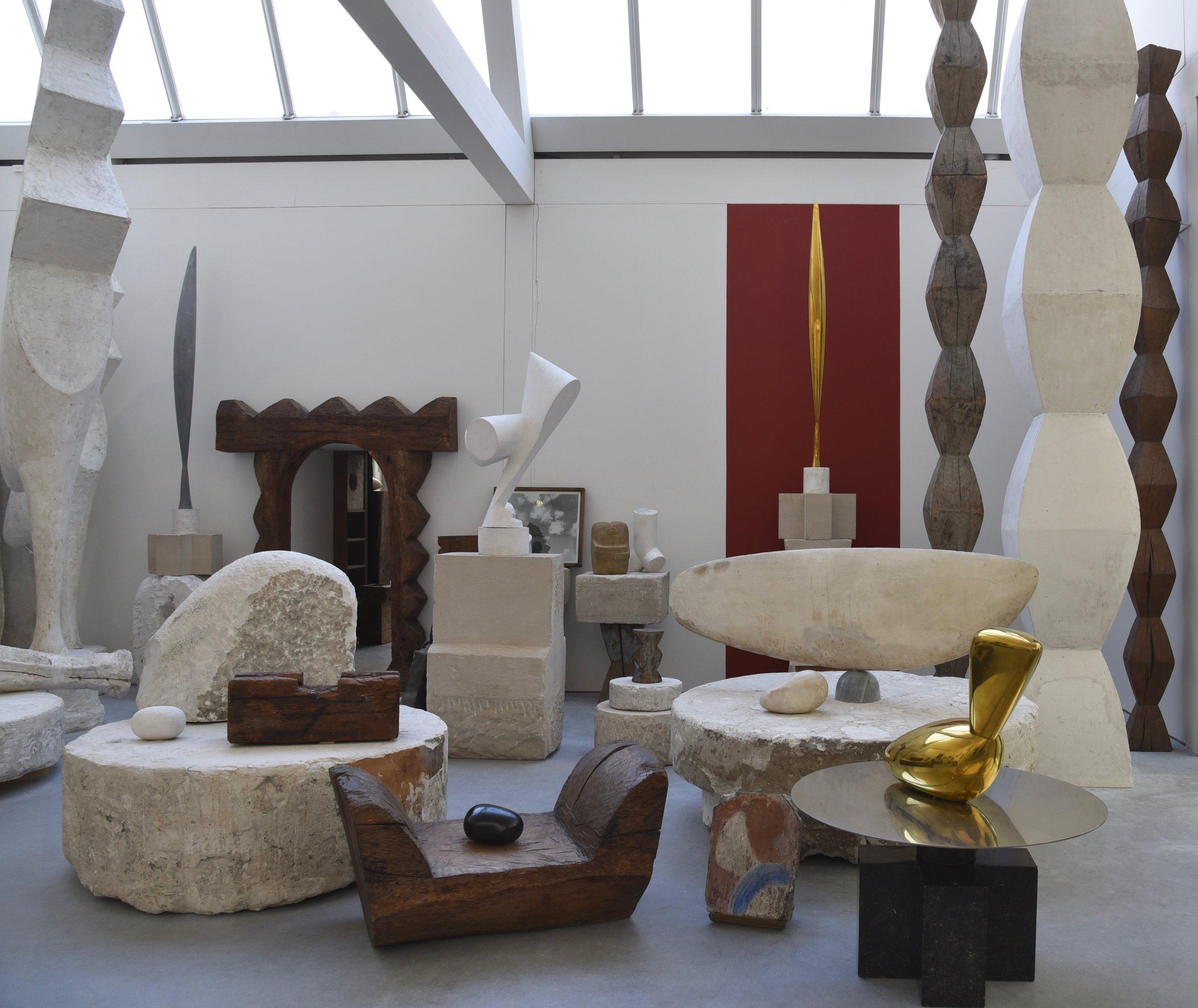 atelier Brancusi reconstruction by renzo piano, paris