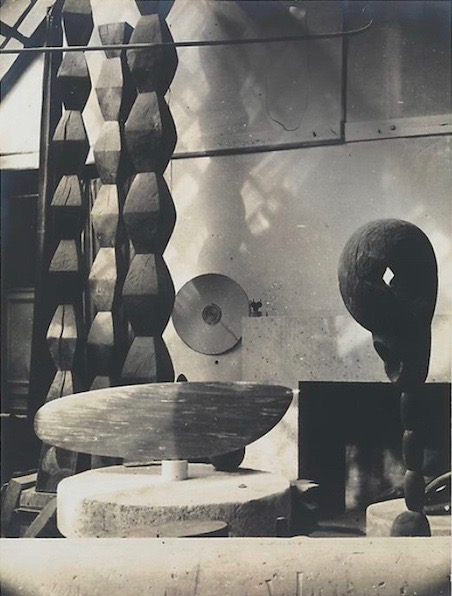 Brancusi'S Studio at impasse ronsin - paris, 1955. Photo courtesy of paul kasmin gallery, ny.
