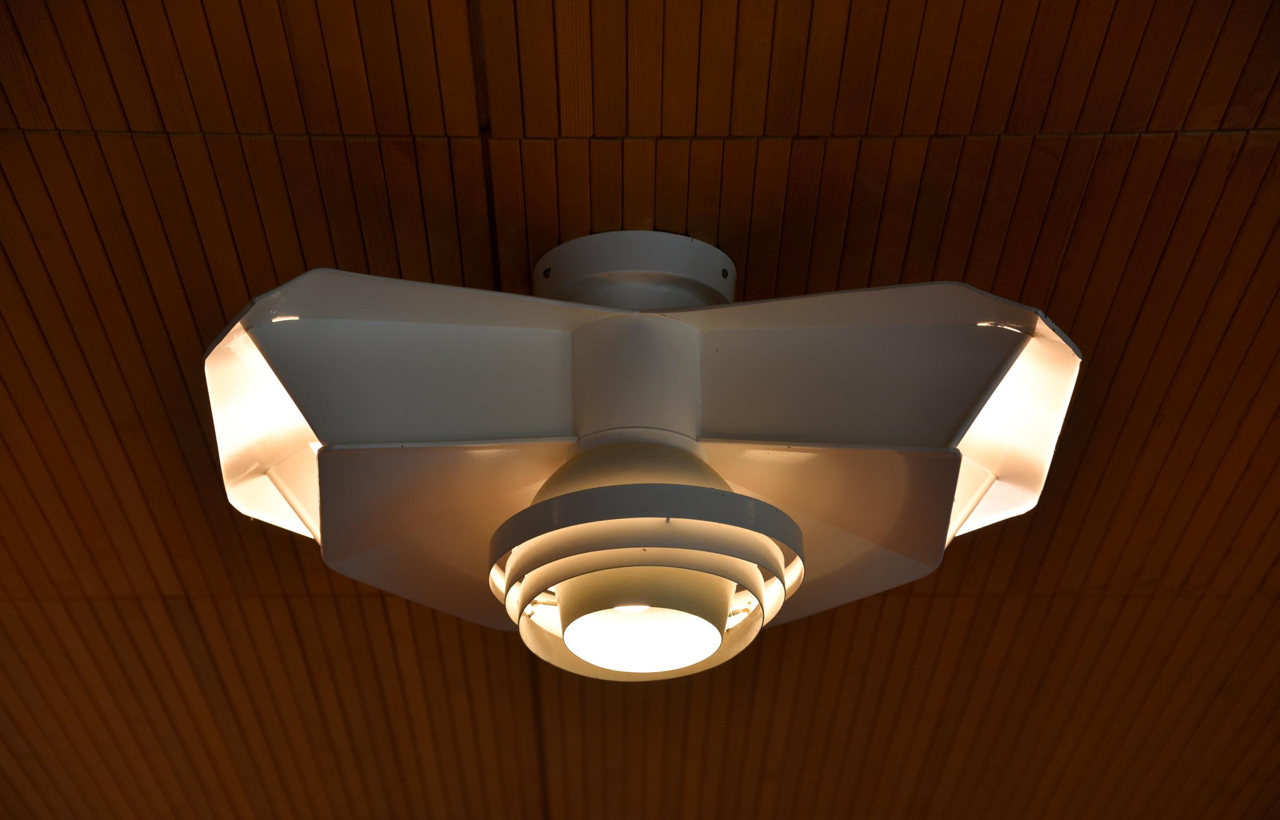 Carré Special ceiling light