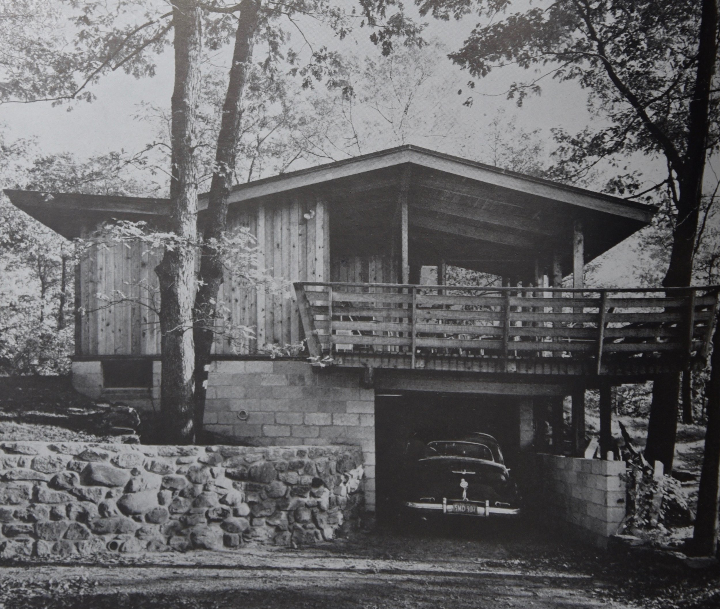 Our House photographed just after completion, 1950. PHOTOgrapher: Lionel Freedman