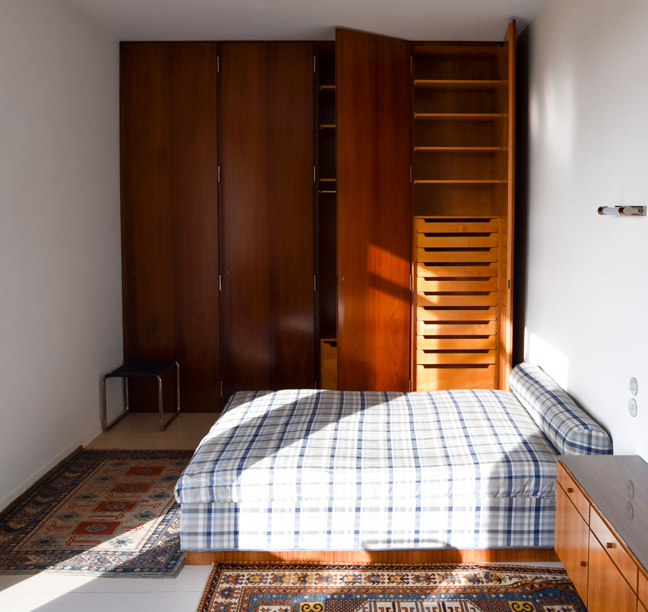 fritz tugendhat's bedroom