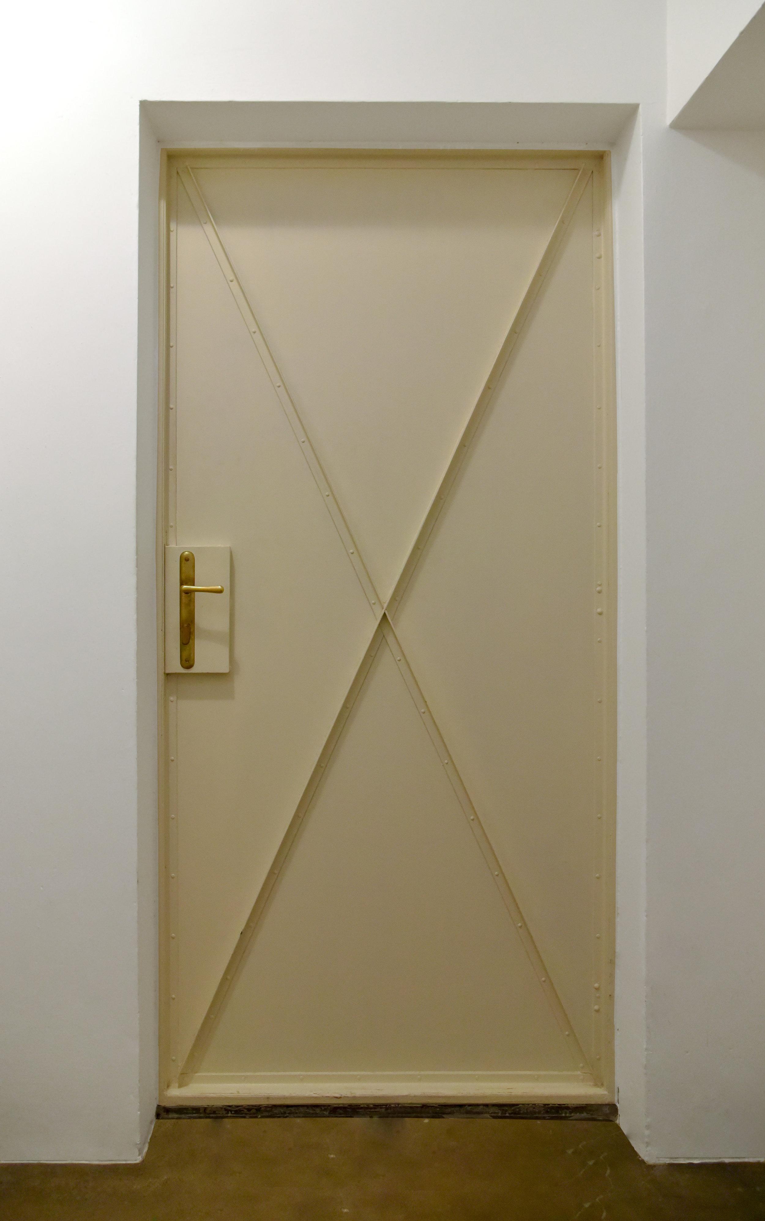STEEL DOOR BASEMENT LEVEL