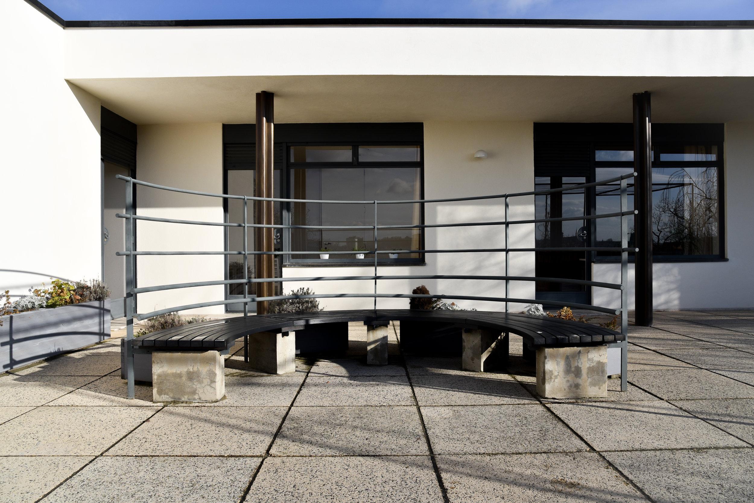 private upper terrace