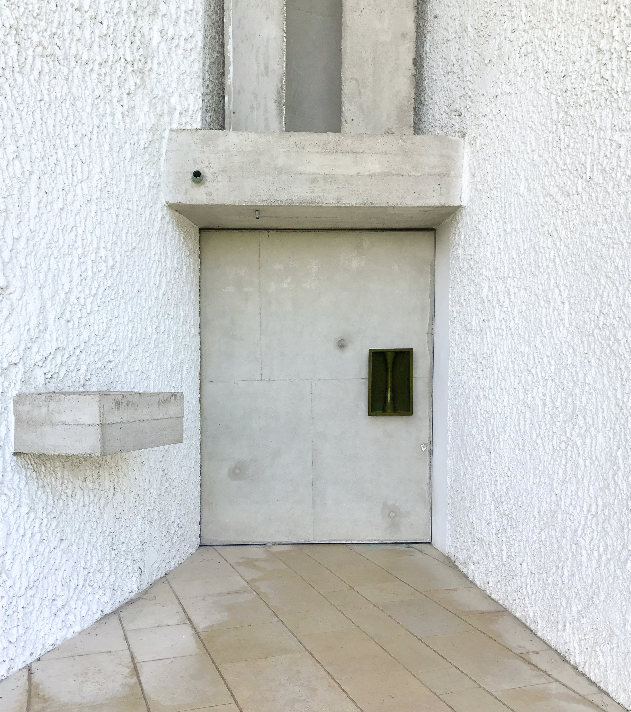 EXTERIOR SANCTUARY DOOR TO INSIDE CHAPEL