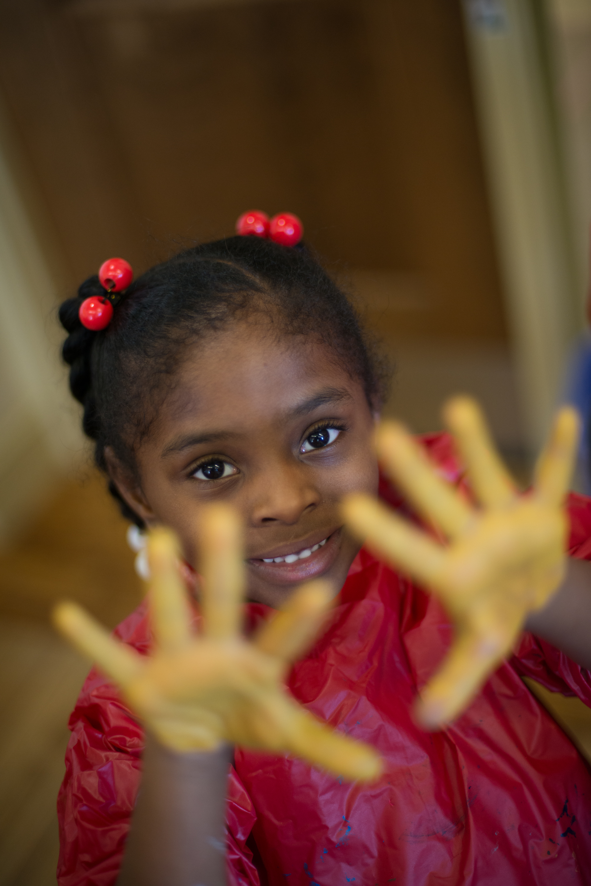 The Cluster School PTA supports arts education, teacher training, and other programming.  Photo credit: Djenno Bacvic Photography