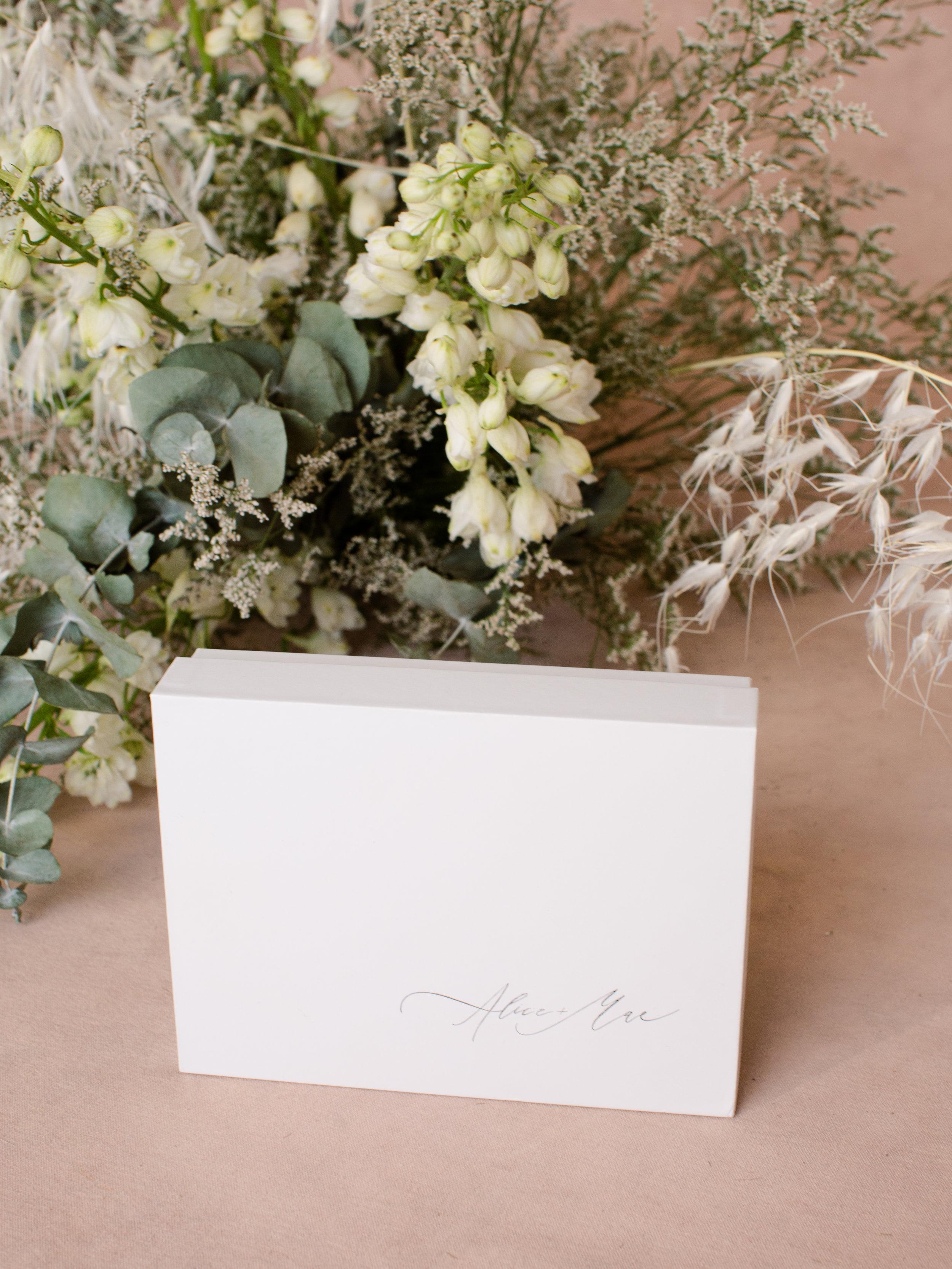 Alice & Mae Bridal Packaging