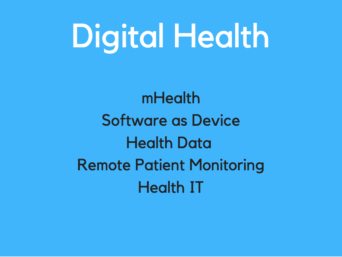 Accelerator Fall 2019:Digital Health - Application deadline: September 25Program dates: October 15- December 13,2019