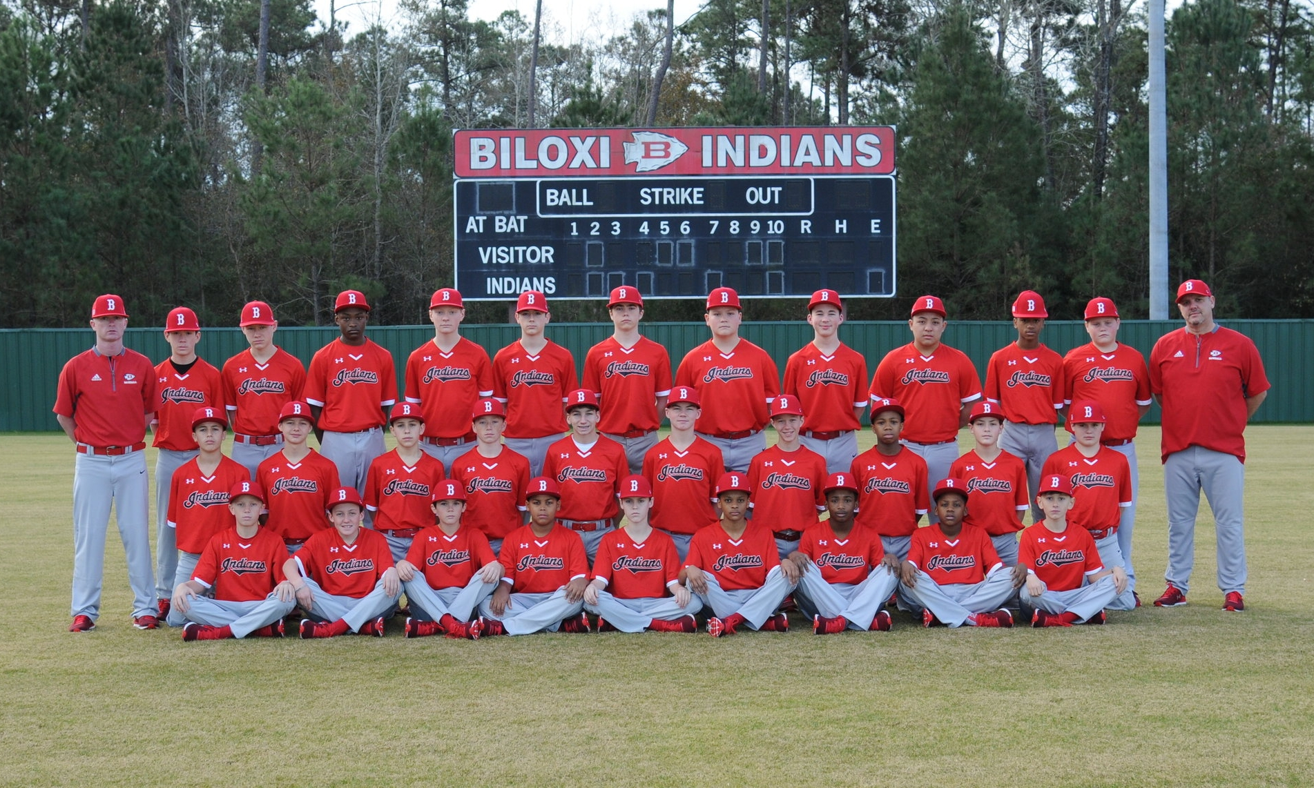 Jr High Team Biloxi Indians Baseball