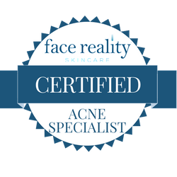 I am a licensed Esthetician with advanced education in Acne, its causes and treatments. I love to help those dealing with acne, acne scarring, and to clear up their skin, safely and without medication.